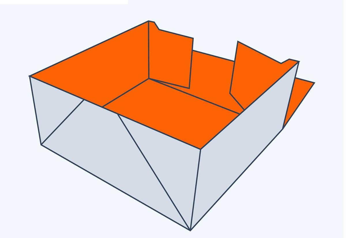 4 Corner Tuck Top