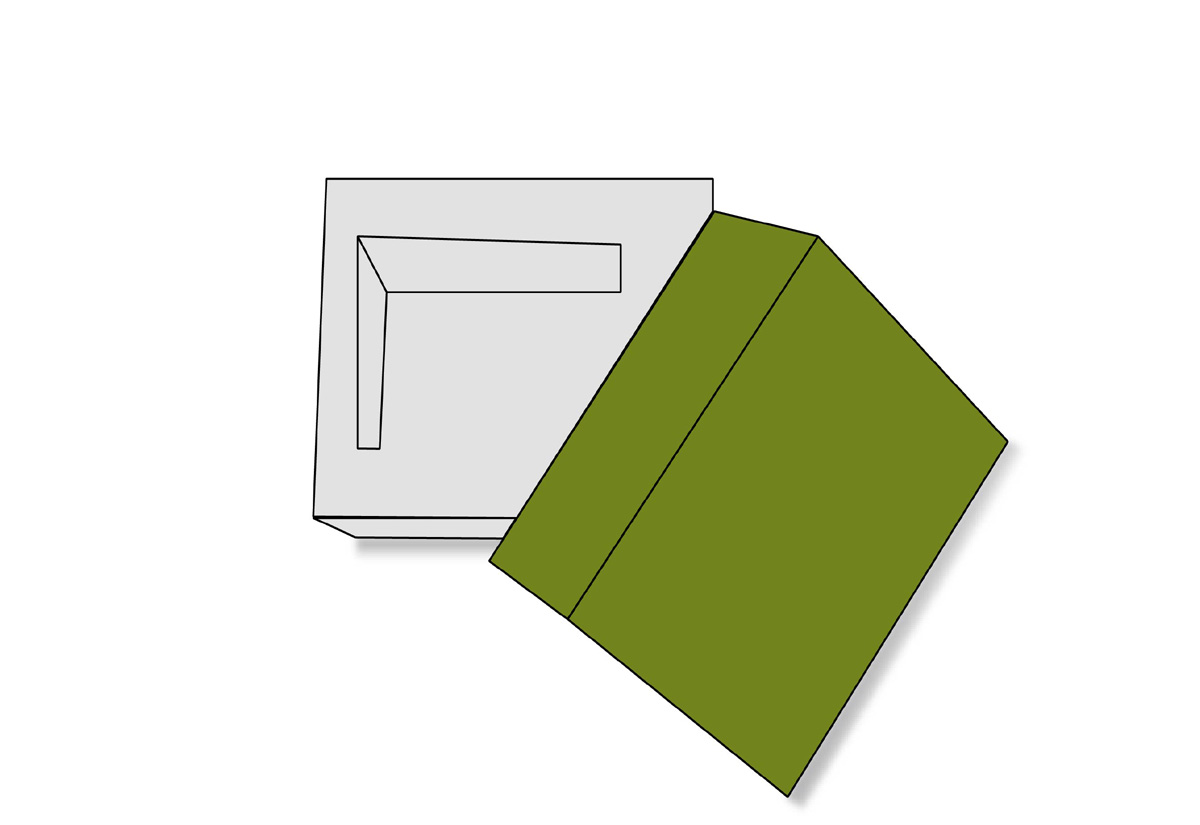 Double Frame Tray Lid
