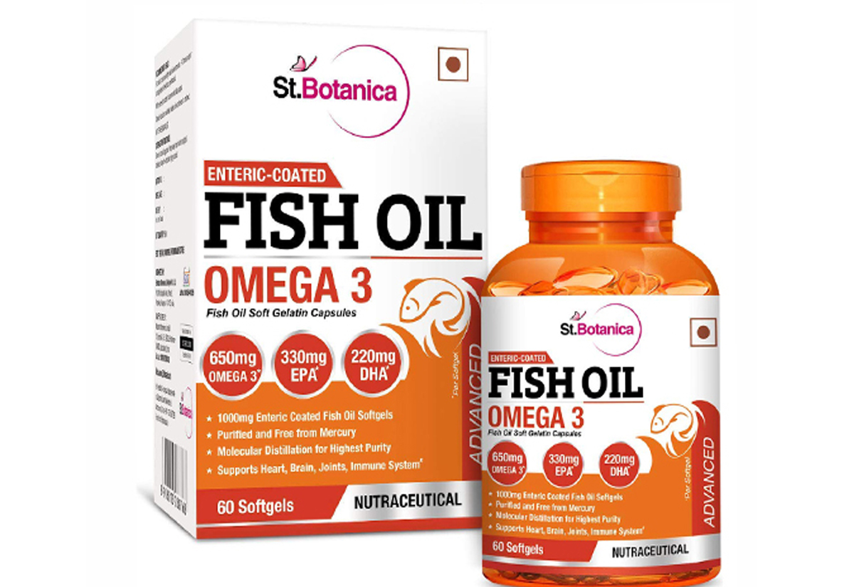 Fish Oil Boxes