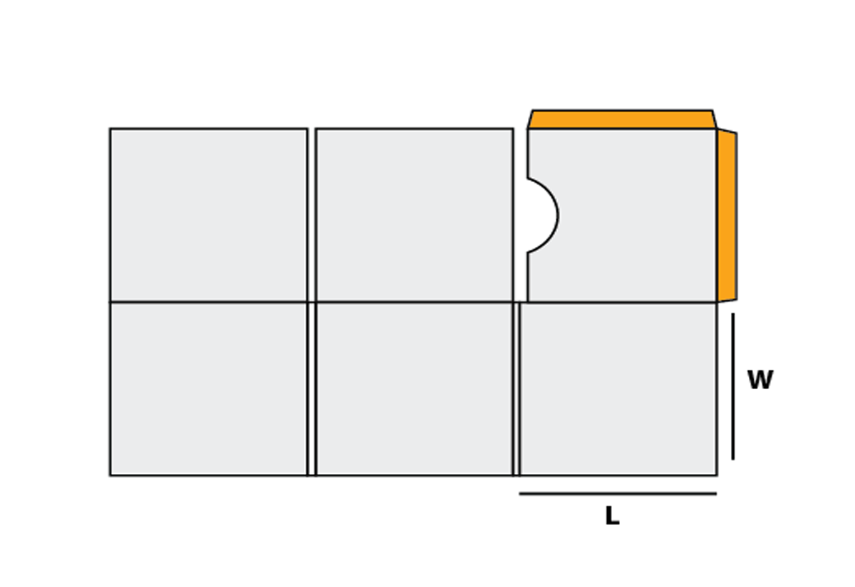 Six Panel Cd Jacket